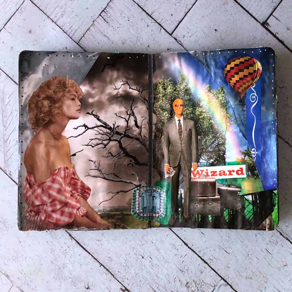 Wizard of Oz. Tara Jacobsen - The Sketchbook Project.
