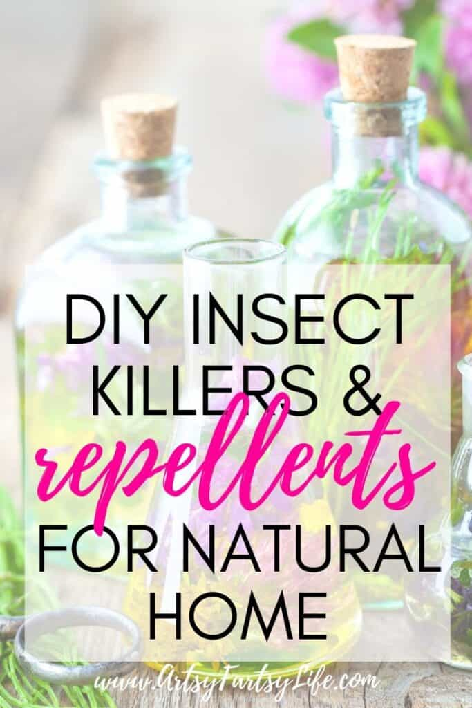DIY Insect Killers and Repellents For Your Natural Home