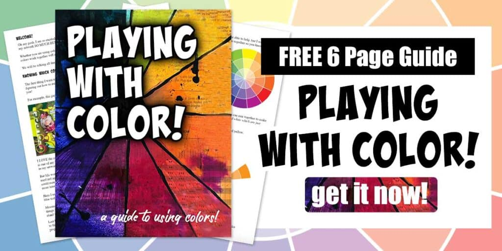 Free Playing With Color Guide