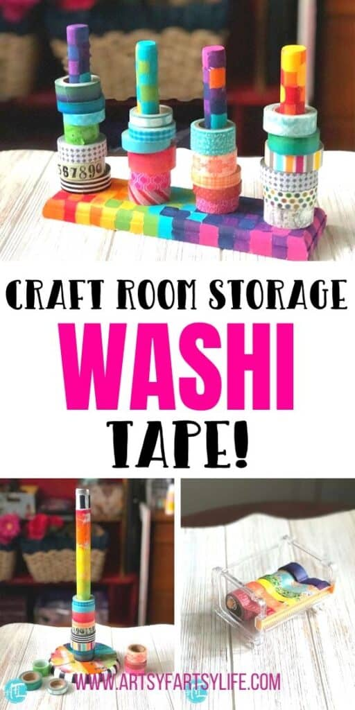 How to store your washi tape - 9 creative ideas