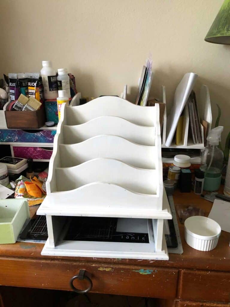 Priming the project - vintage mail station