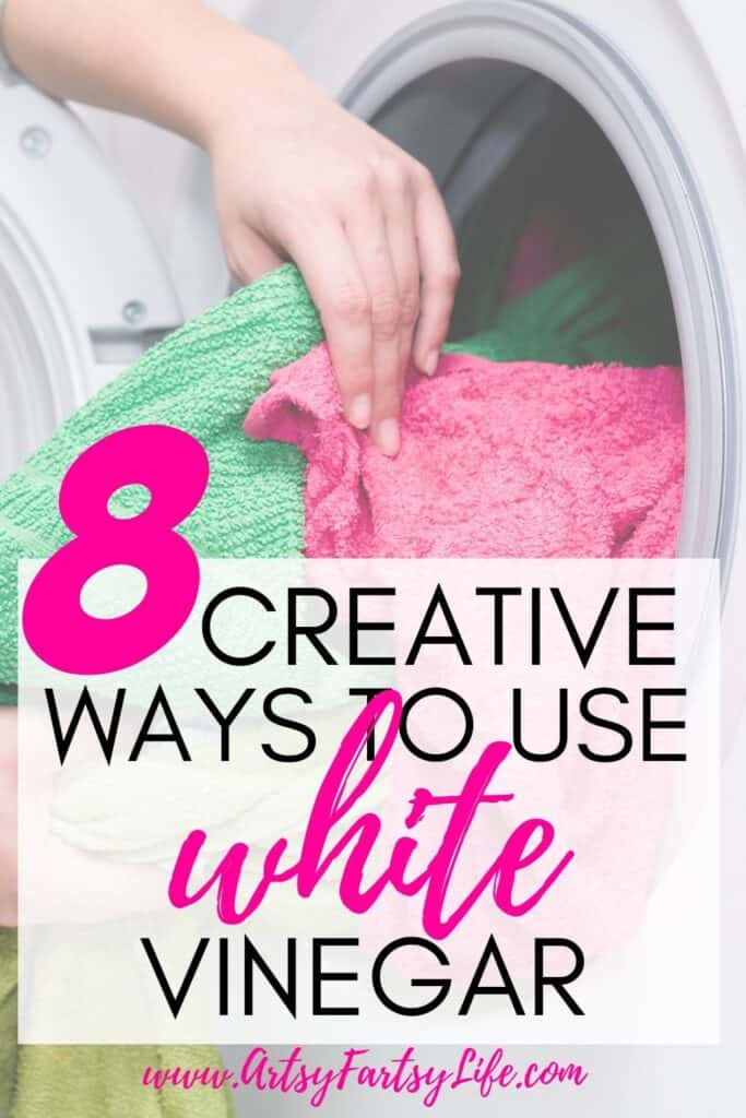 8 Creative Ways To Use White Vinegar In Your Laundry