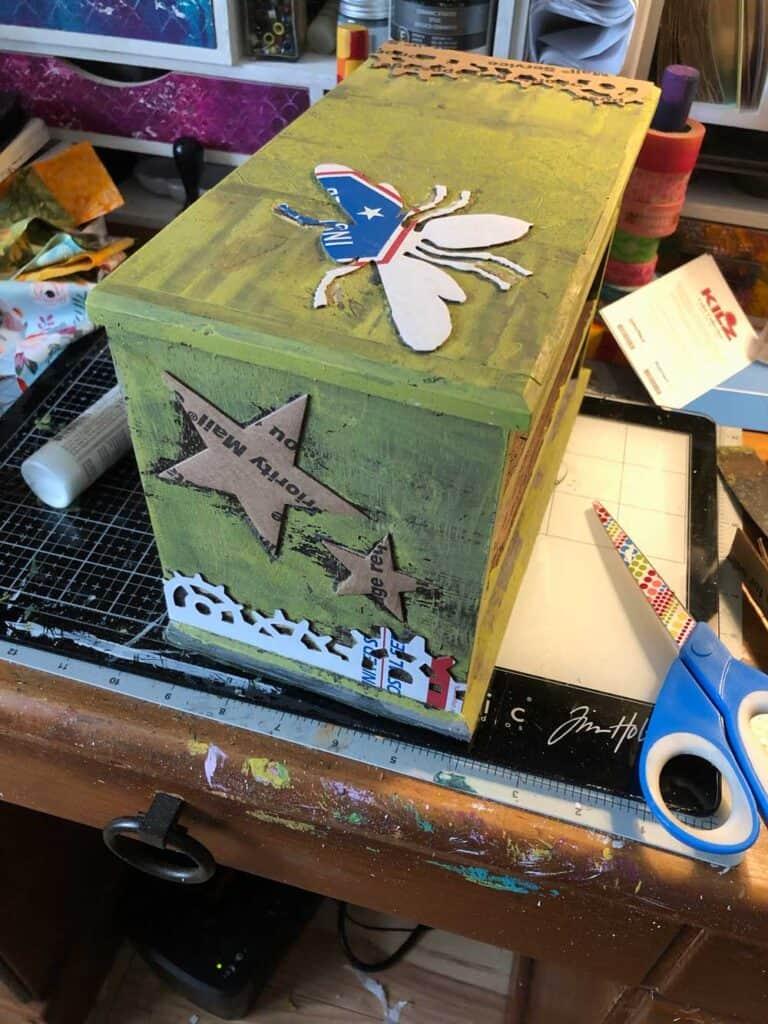 Bee Box - Cardboard Cutouts