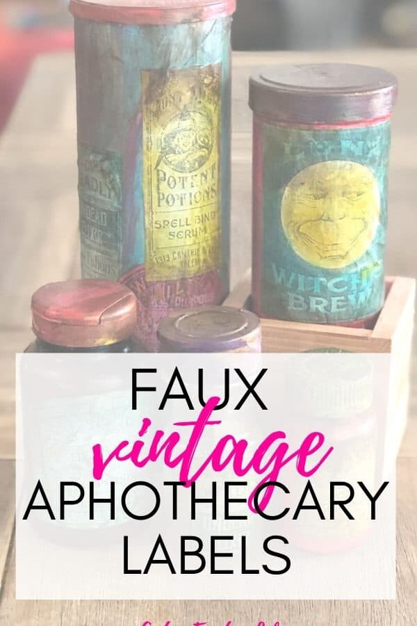 Faux Vintage Apothecary Labels (Halloween Labels)