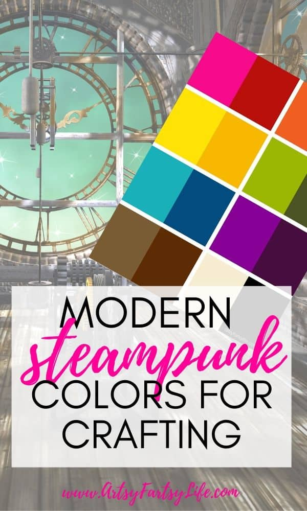 Modern Steampunk Colors For Crafting