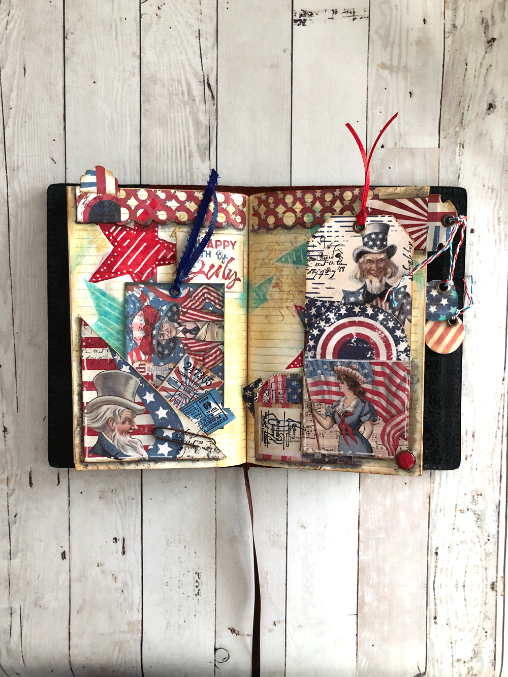 Final 4th of July Page Layout