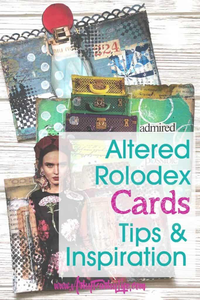 Rolodex Modern Steampunk Art Card Ideas & Inspiration