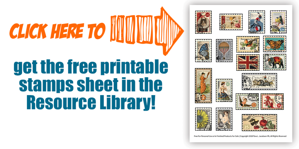 Click here to get the printable stamps sheet