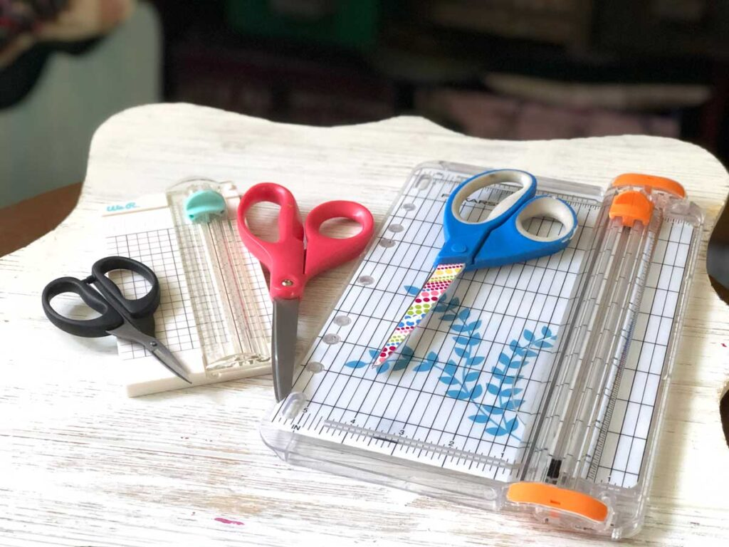 Best Junk Journal Supplies - Scissors and Cuttters