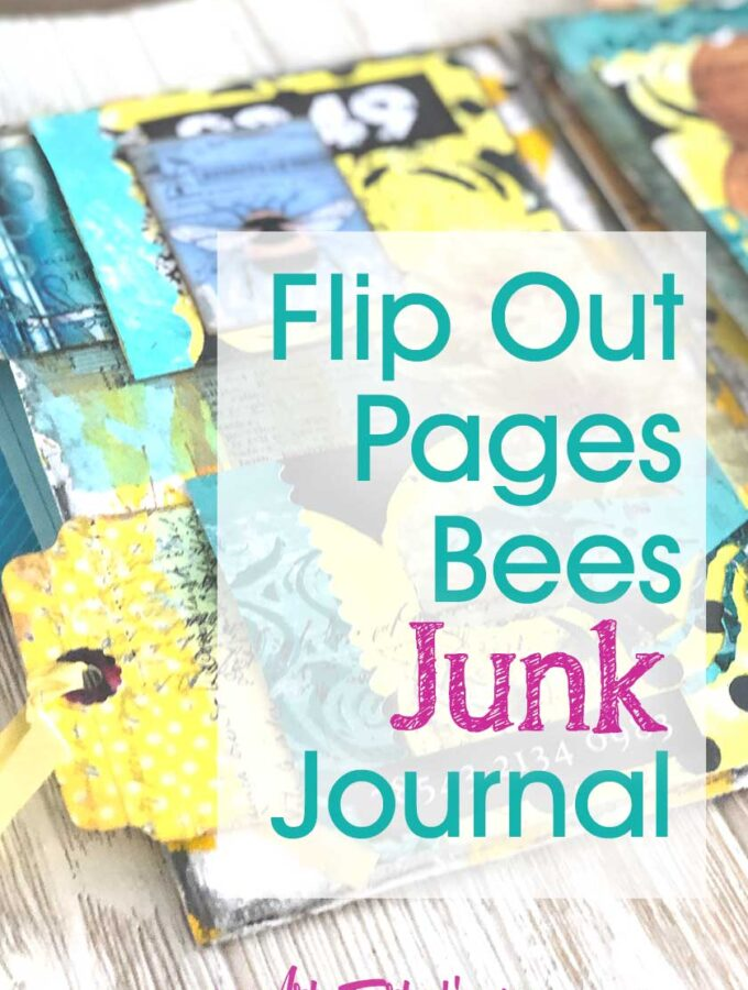 Flip Pages Bee Junk Journal
