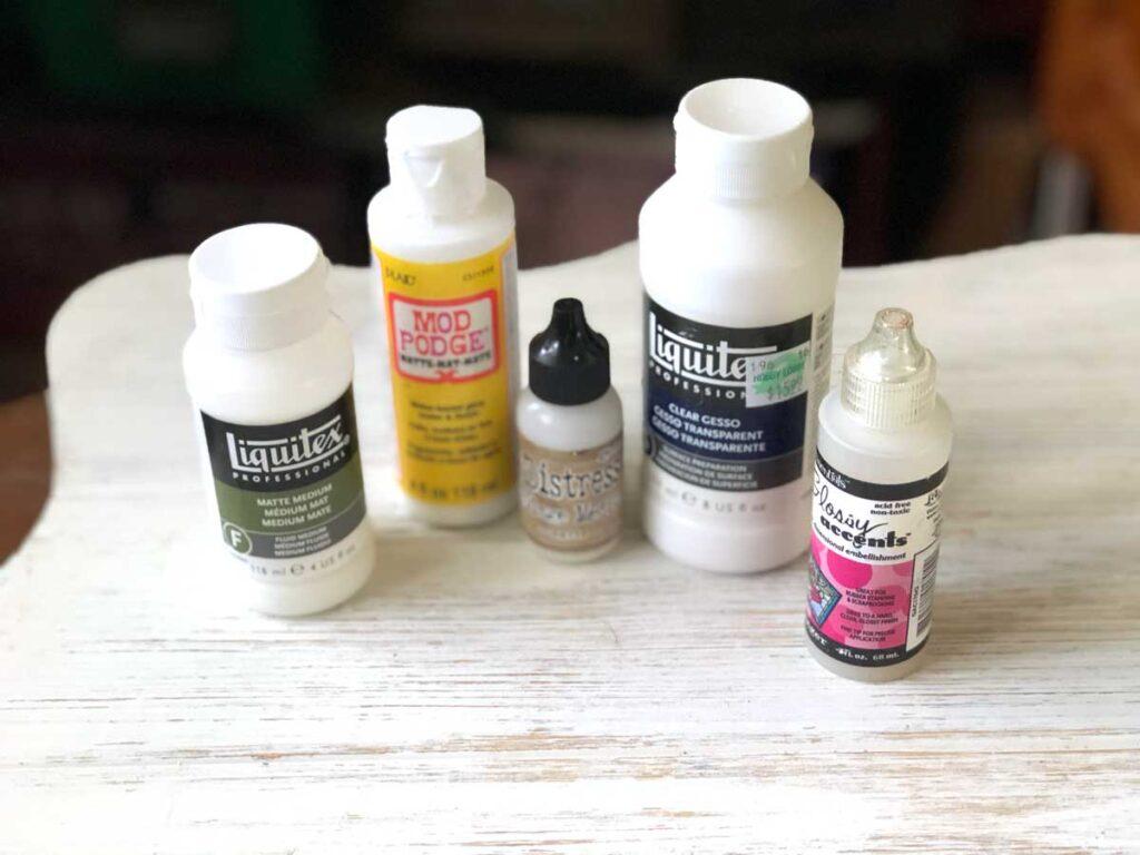Junk Journal Glues