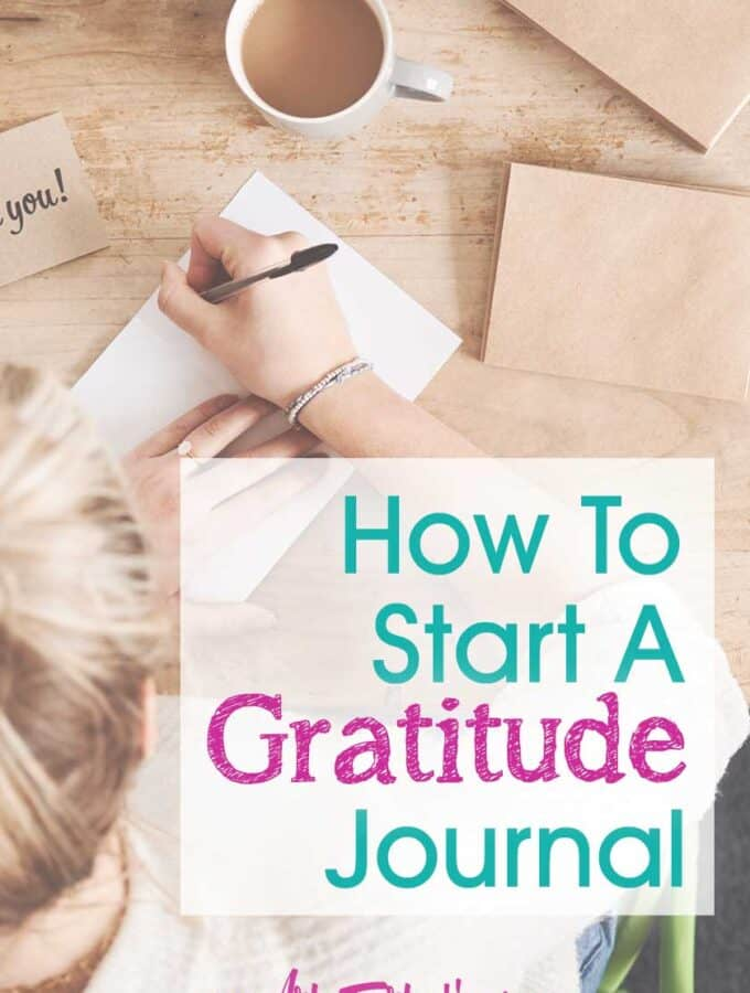 How To Start A New Gratitude Journal