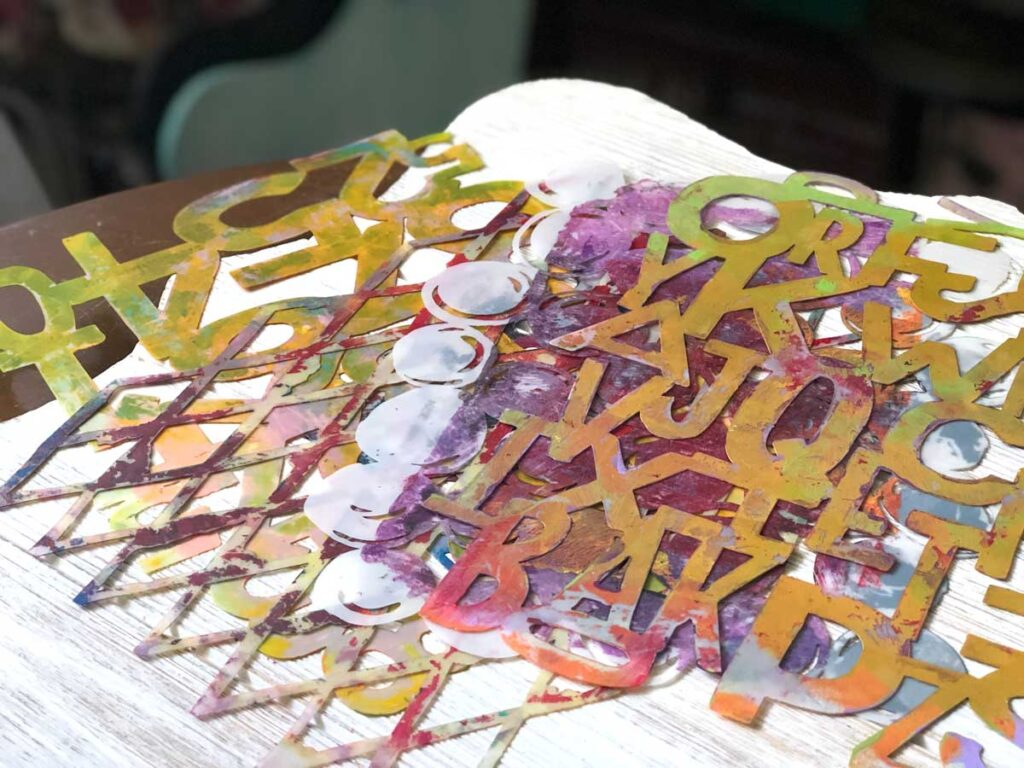 Stencils and Masks For Junk Journaling
