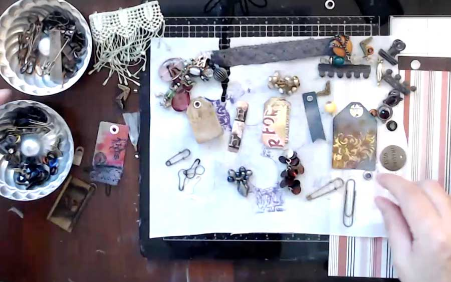 How to make paperclip dangles