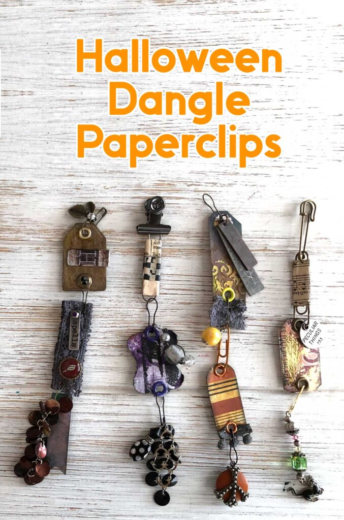 Halloween Dangle Paperclips