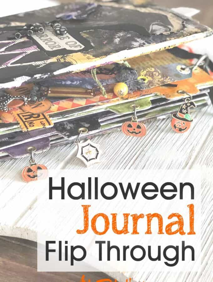 Halloween Junk Journal Flip Through