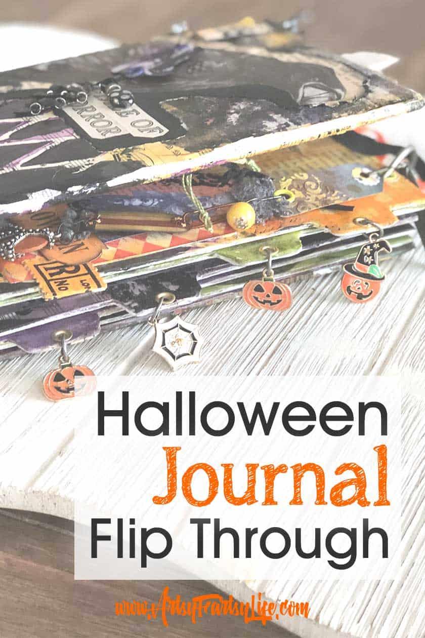 Halloween Junk Journal Flip Through