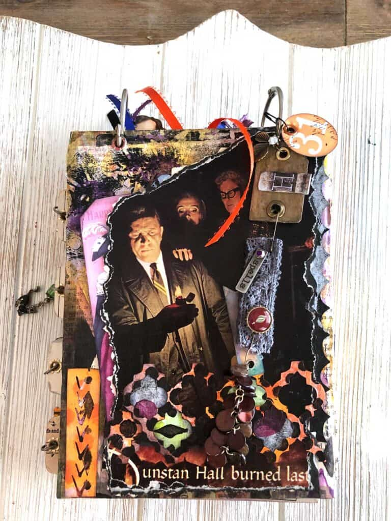 Creepy Back Cover with Dangle Charm