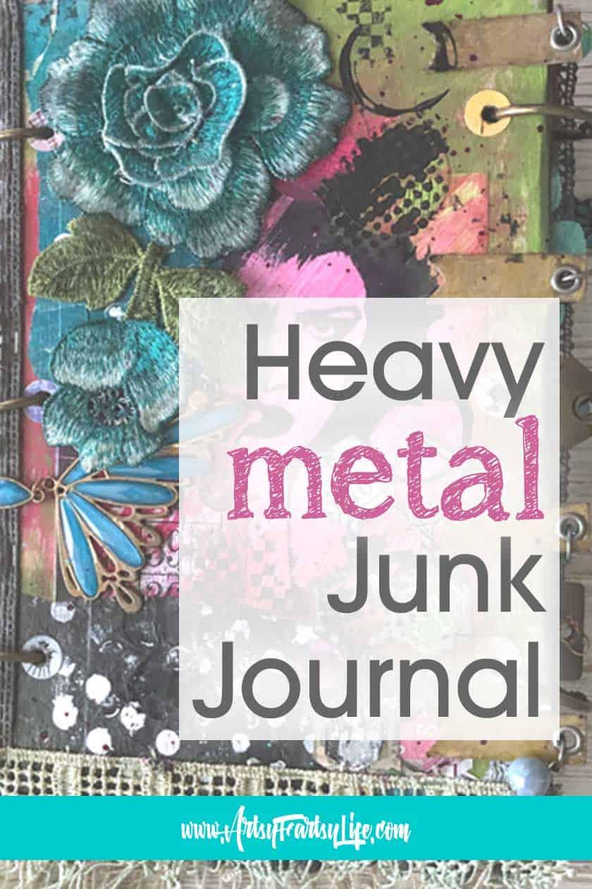 Heavy Metal Junk Journal Mini Album