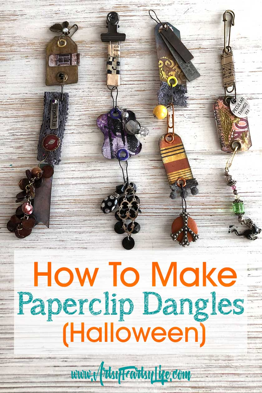 Paperclip Dangles Charms - Halloween Edition