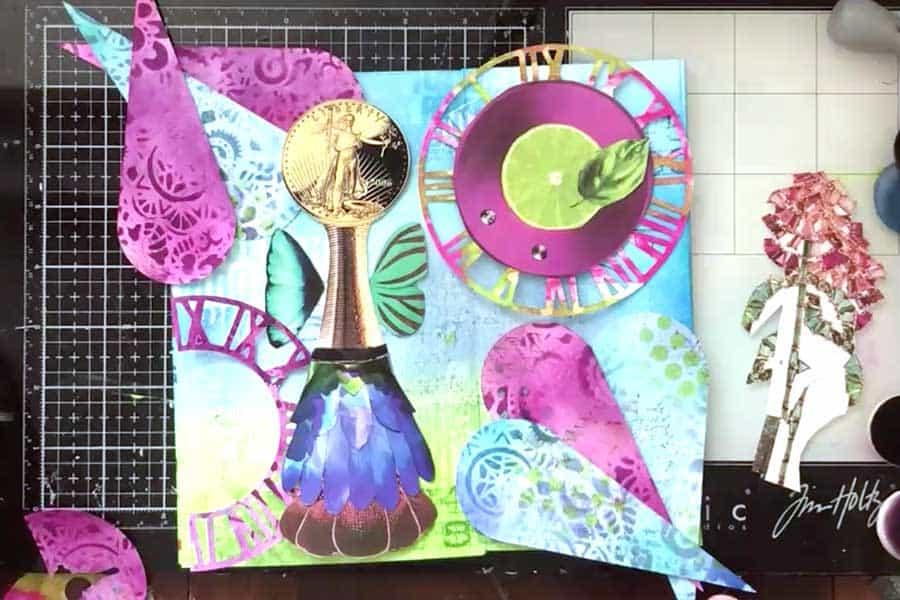 Assemble Magazine Collage Pieces