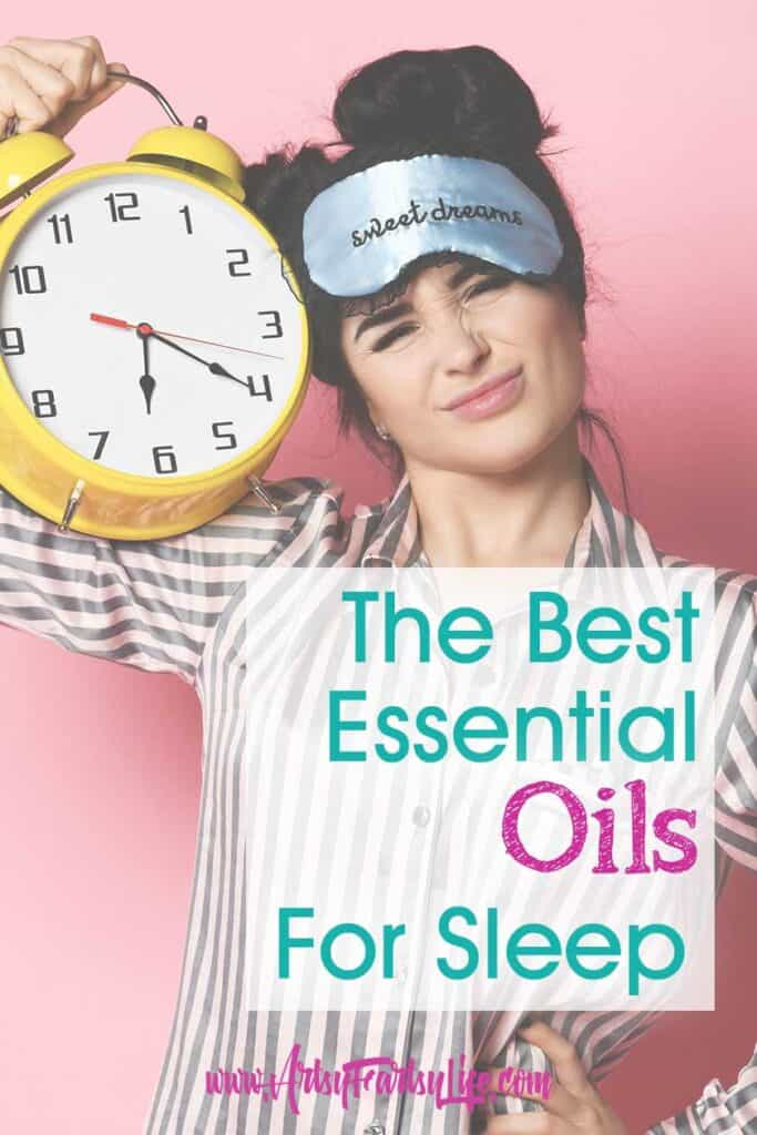 All The Best Essential Oils for Sleep