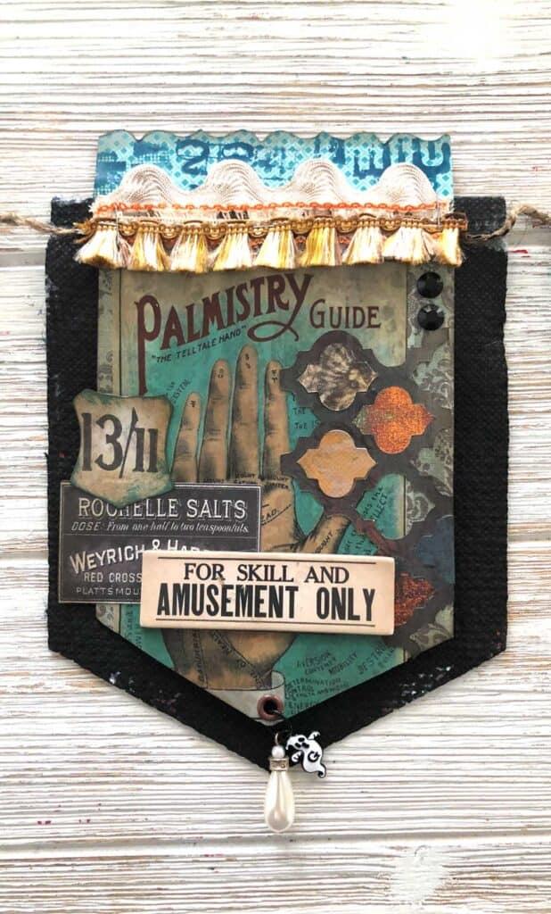 Halloween Banner - DIY Vintage Halloween Decorations