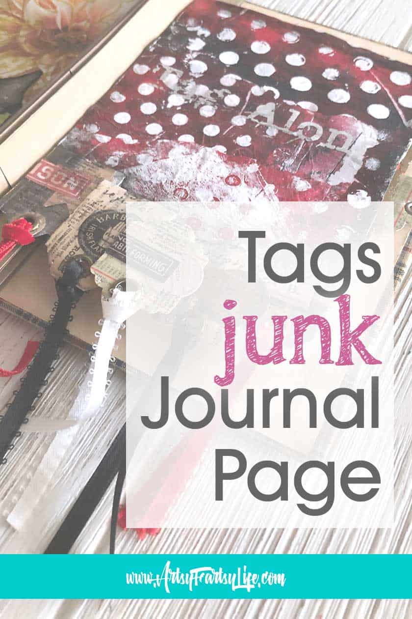 How To Tutorial - Tag Journal Pockets (with Ribbons!)