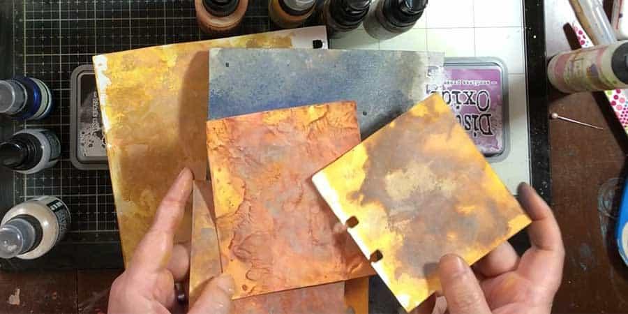 Final paper looks just like metal!
