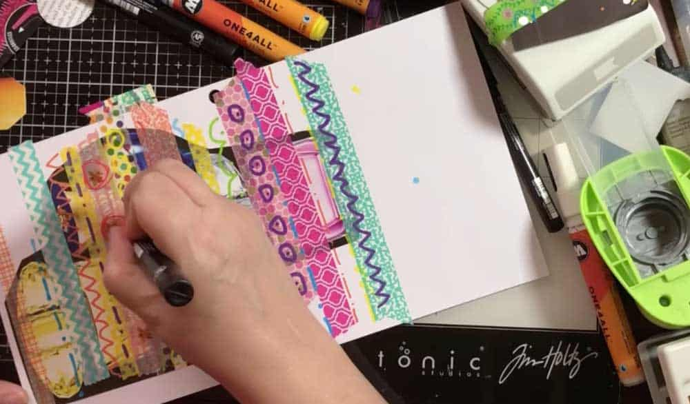 4. Use Paint Pens or Acrylic Paint & Brushes To Make Designs