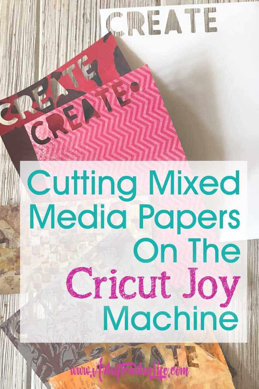 Mixed Media Paper To Cut With The Cricut Joy