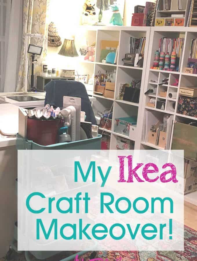 My Ikea Craft Room Makeover