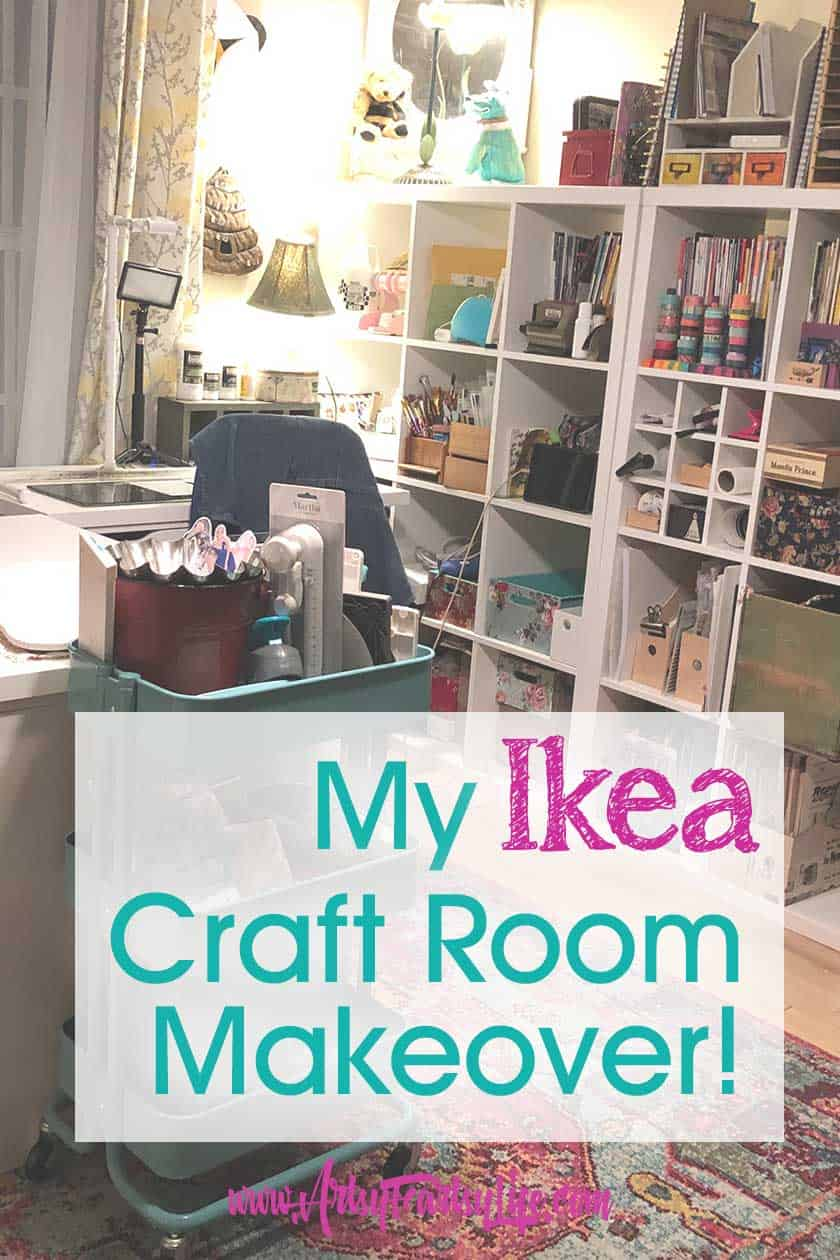 My Ikea Craft Room Makeover