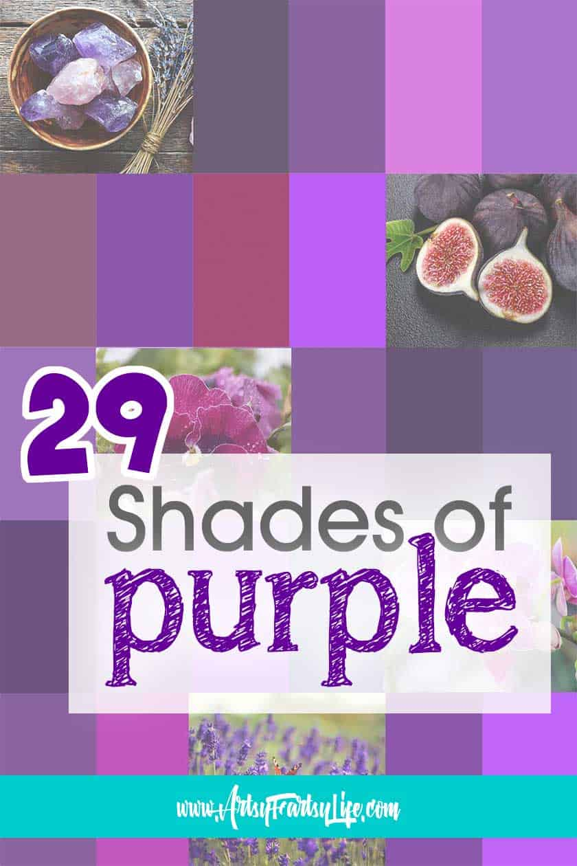 29 Shades of Purple Paint