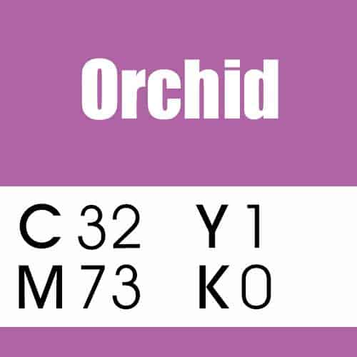 Orchid Purple Color CMYK