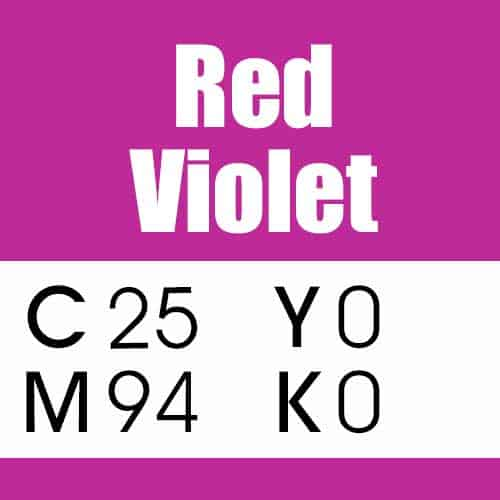 Red Violet CMYK Color