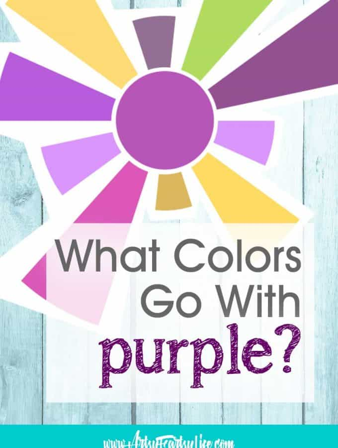 What Colors Go With Purple?