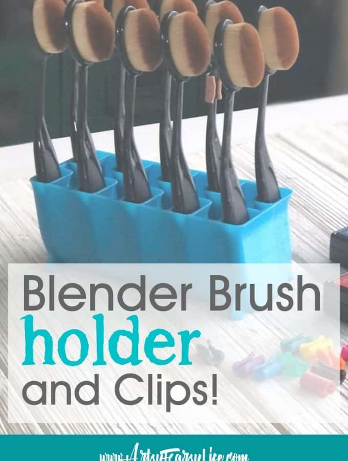 Make It By Marko - Blending Brush Holder and Clips