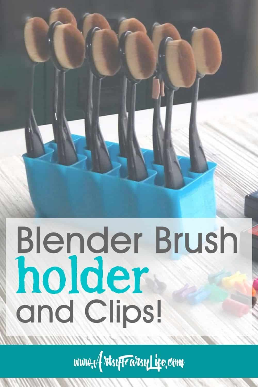 Make It By Marko - Blending Brush Holder and Clips