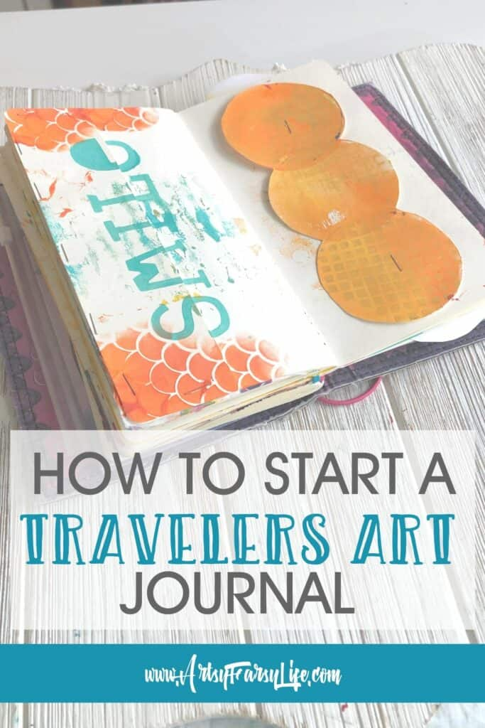 How To Start A Dyalog Travelers Notebook Art Journal