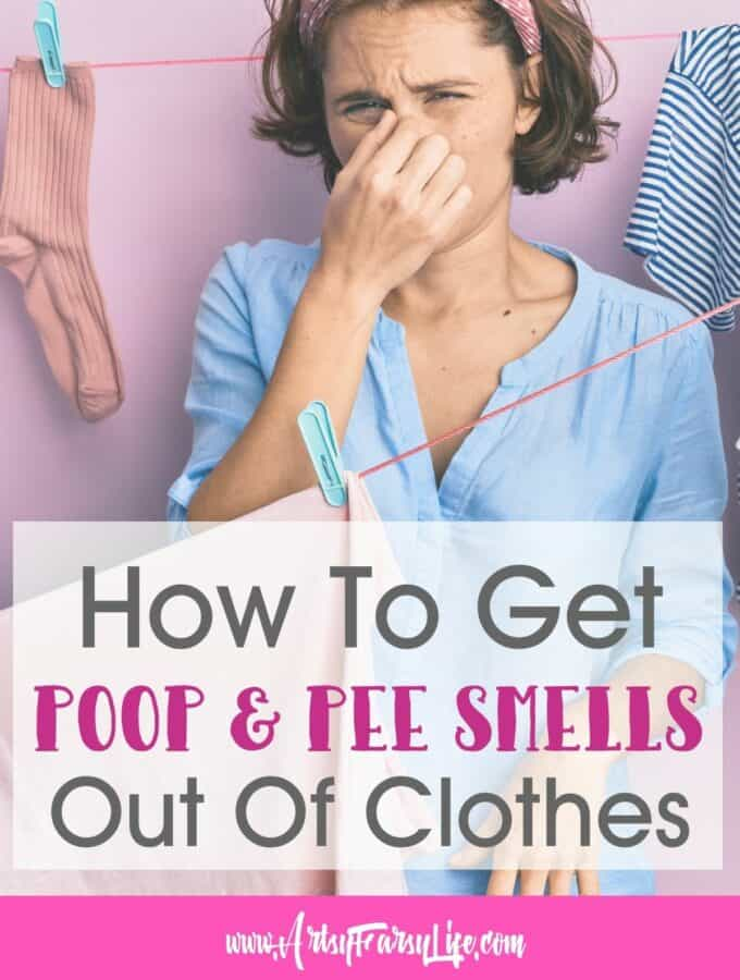 How To Get Rid of Urine and Feces Smells In Clothes