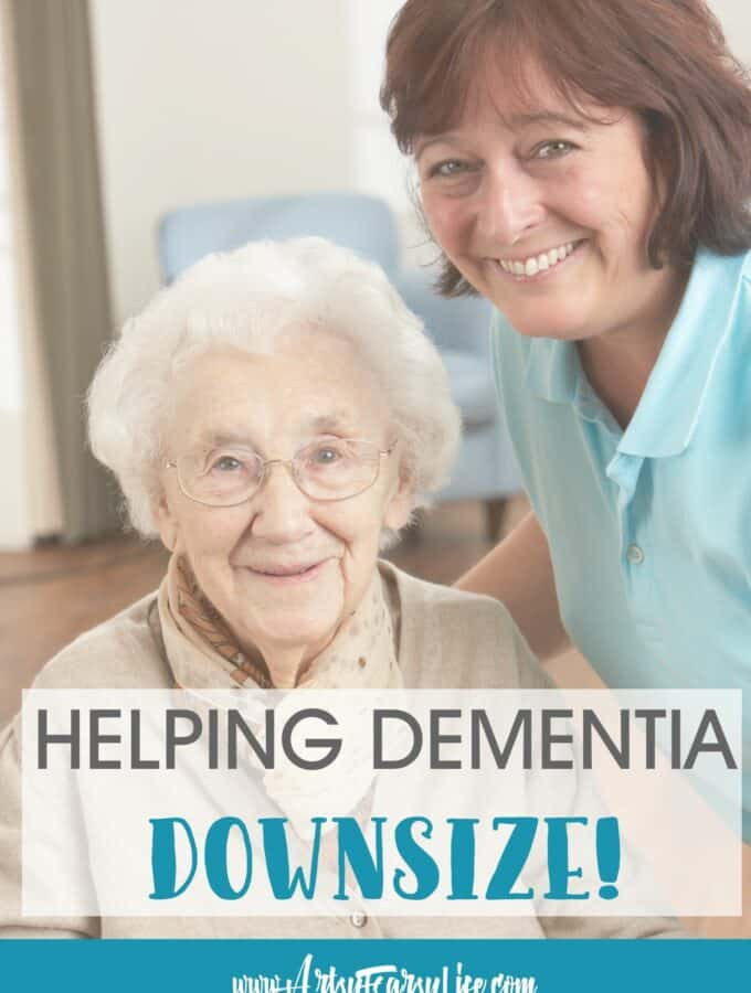 How To Help Your Dementia Mom Downsize