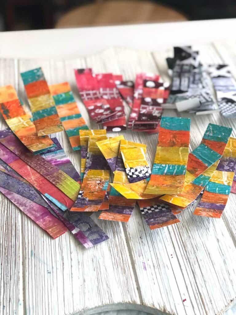 DIY Washi Tape Cut Into Strips