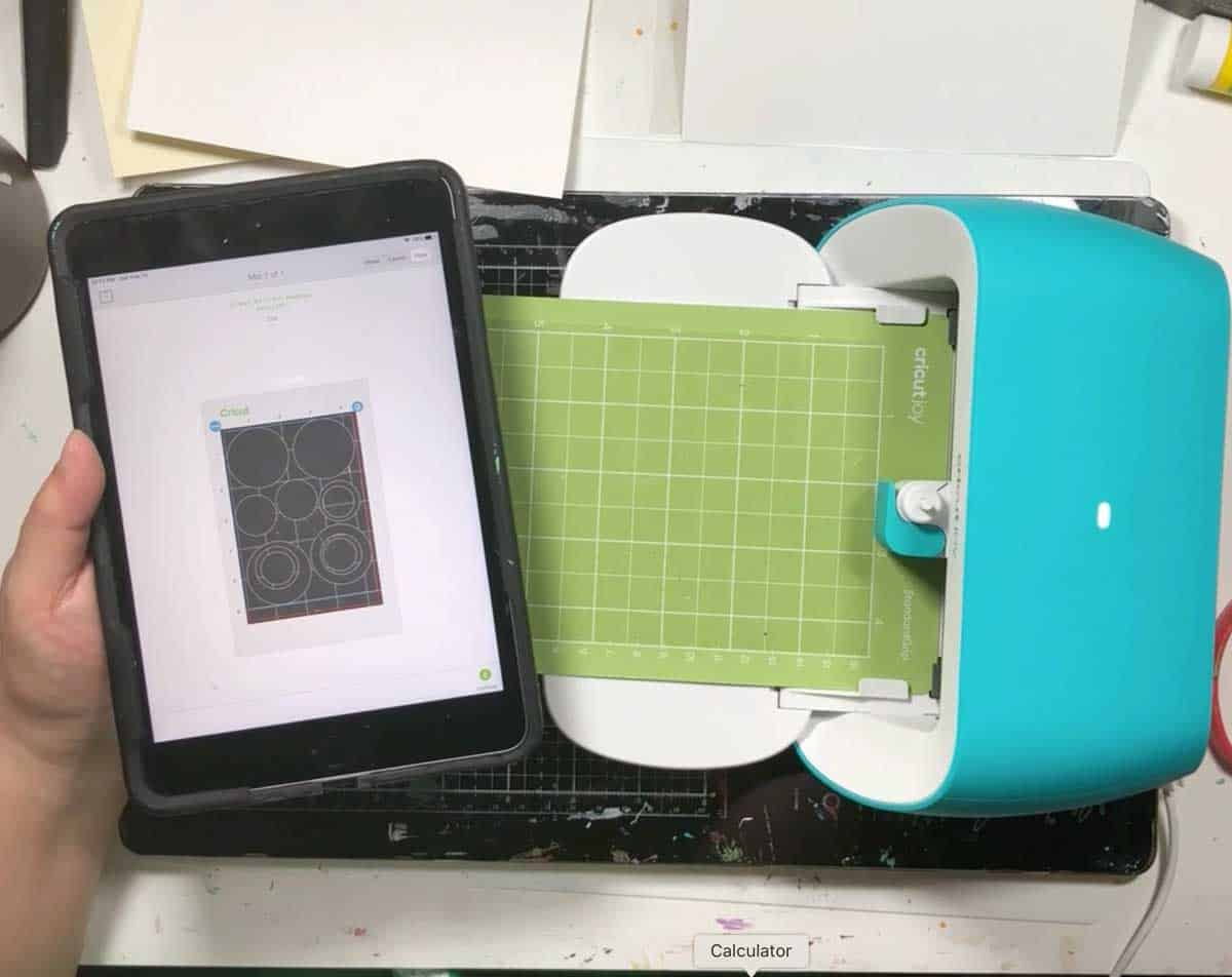 Make Mylar Stencils On Cricut Joy Cutting Machine