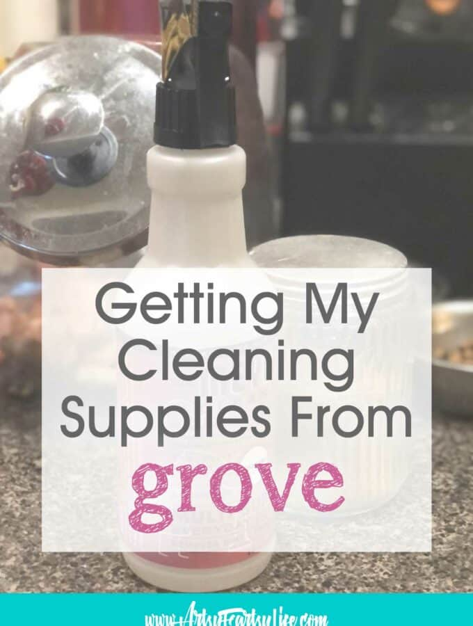 Shopping For Natural Cleaning Supplies on Grove Collaborative