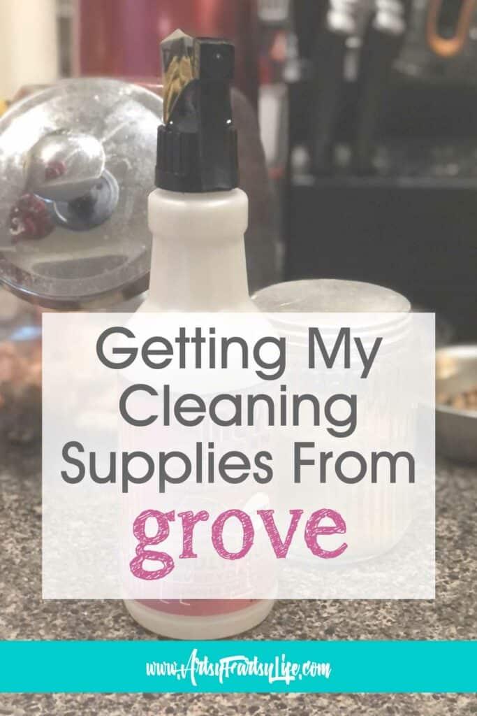Compra de suministros de limpieza naturales en Grove Collaborative