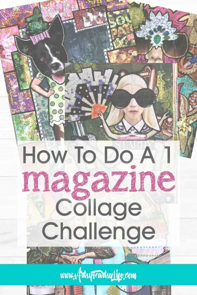 What Is A One Magazine Collage Challenge?