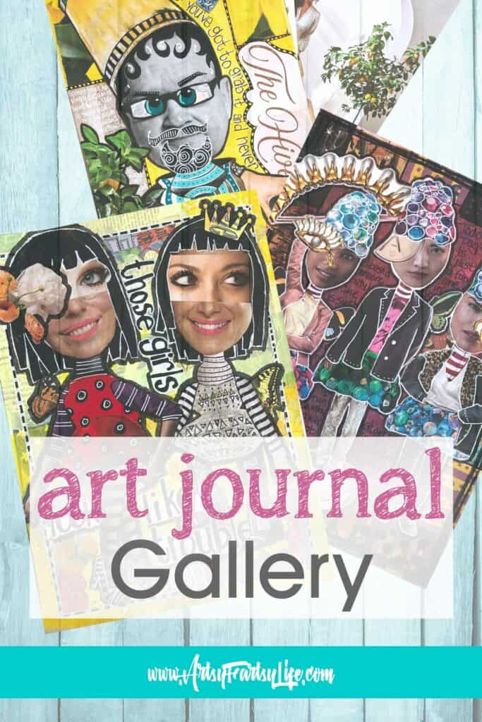 Artsy Fartsy Life Art Journal Gallery And Inspiration