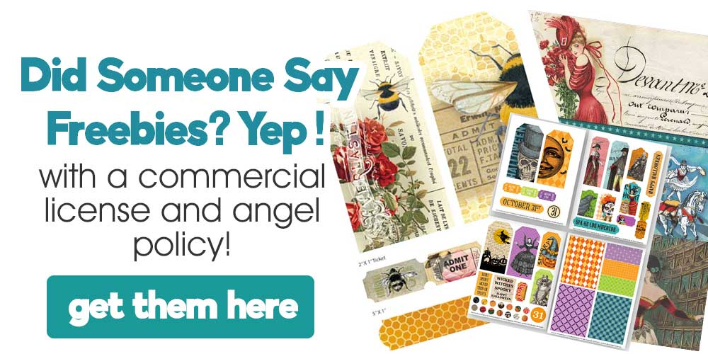 Get the freebies library from Artsy Fartsy Life with commercial license and angel policy