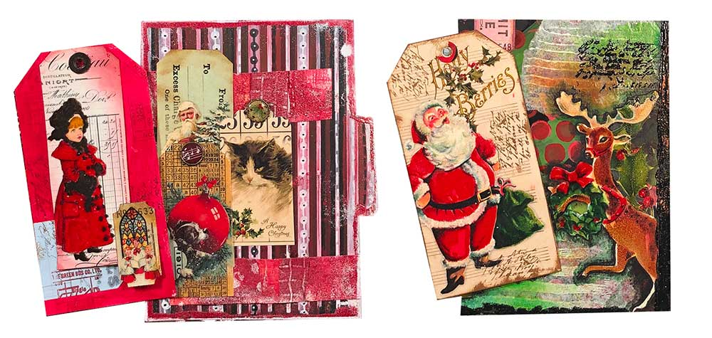 Free Printable Mixed Media Art Journal Pages